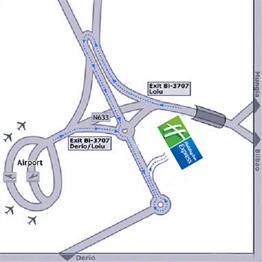 Bilbao Airport Map Hotel Near Bilbao Airport | Map & Directions Holiday Inn Bilbao